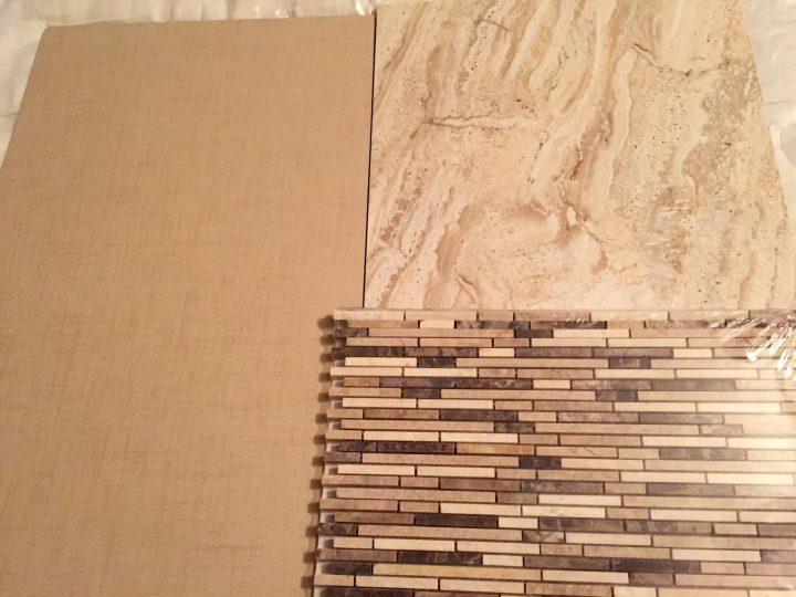 Emperador Bamboo Blend Mosaic Tile