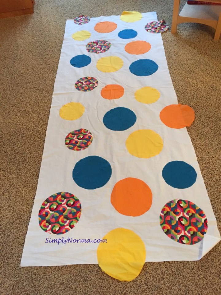 Making A Quilt With Circles
