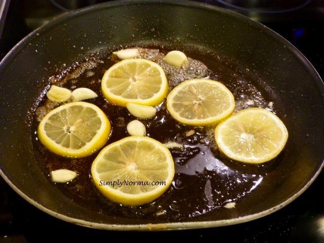 Brown the Lemon Slices