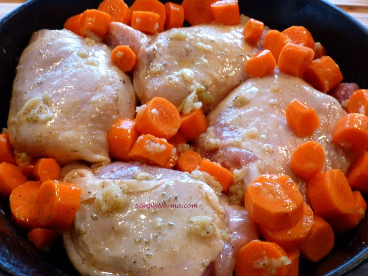 Skin On ~ Bone In Chicken