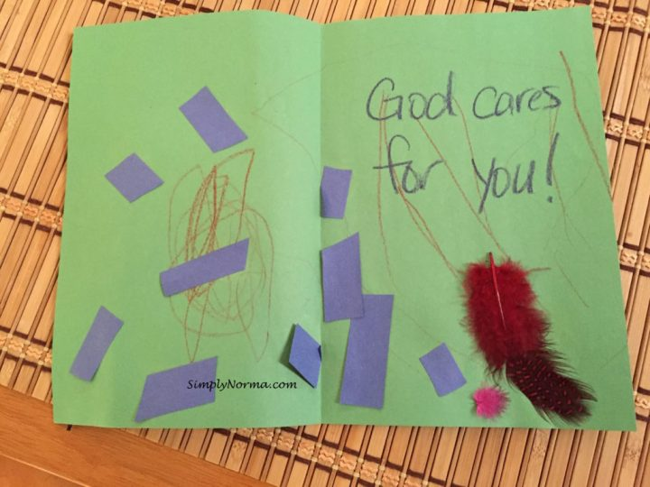 Child's Handmade Card