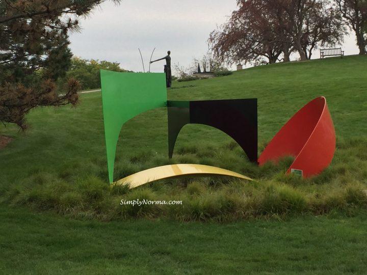 Harrison Sculpture Garden, Minnesota Landscape Arboretum