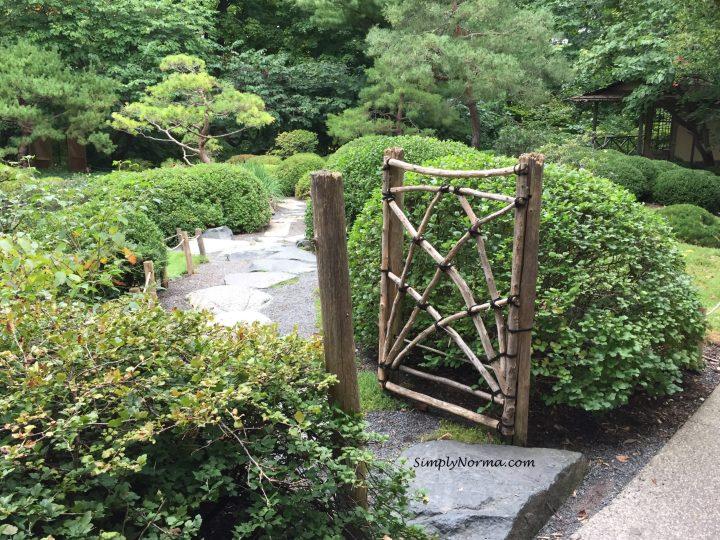 Japanese Garden Gate, Minnesota Landscape Arboretum