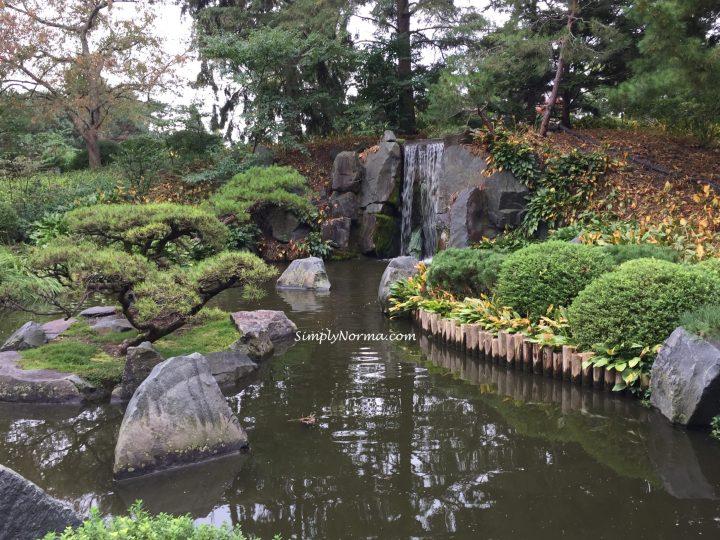 Japanese Garden Waterfalls, Minnesota Landscape Arboretum