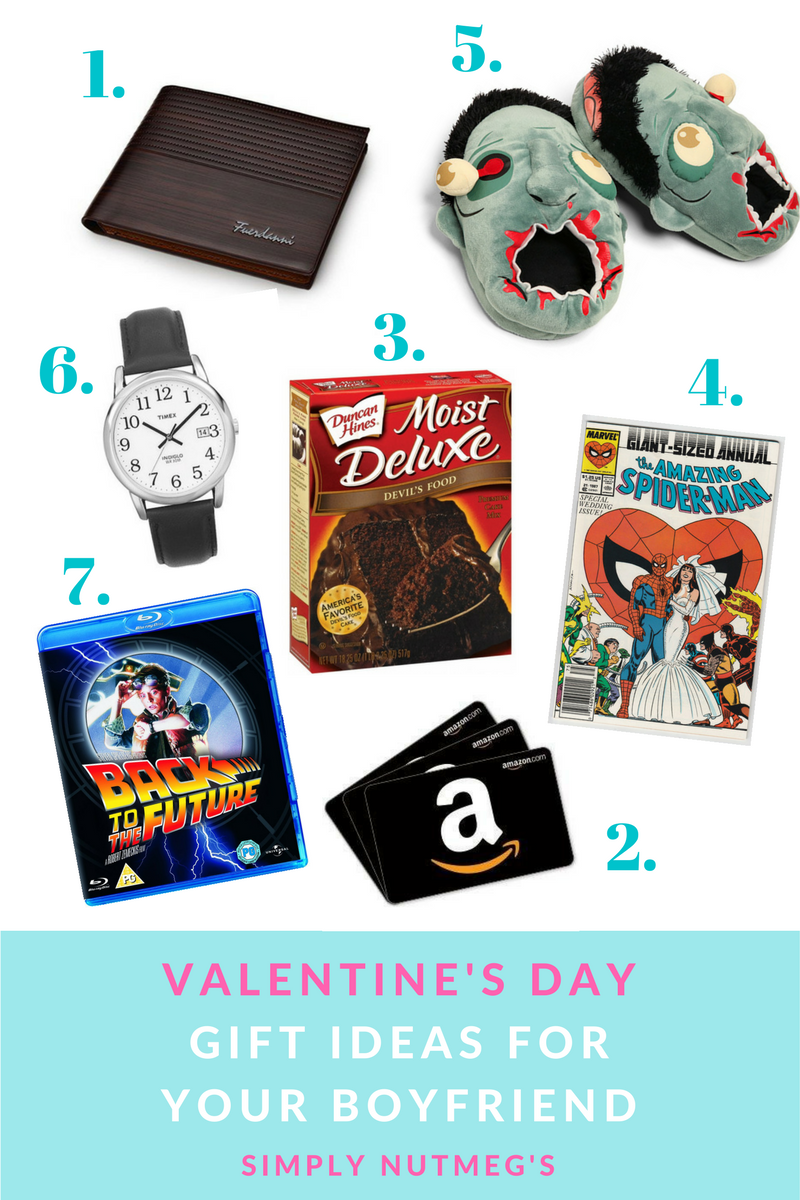 Valentines day gifts for your boyfriend for Gifts for your valentine