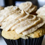 Banana Cupcakes Brown Sugar Icing