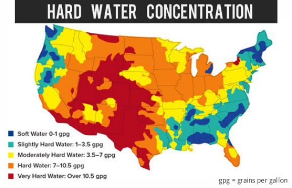 Image result for hard water effects on hair