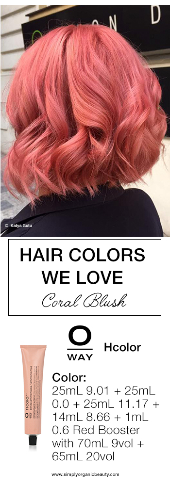Trending Hair Colors This Week With Formulas Simply