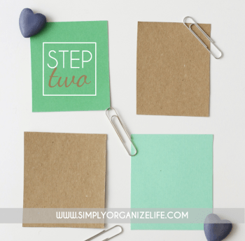 Organize-Your-Life-With-Scrap-Paper-Step-2-Simply-Organize-Life