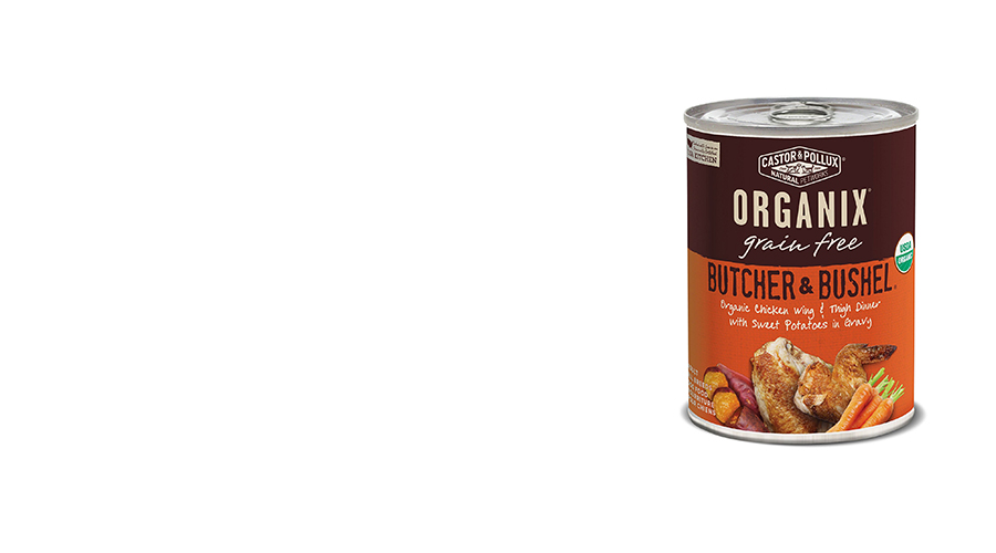Organic Grain Free Canned Dog Food