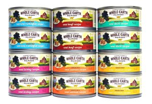 Buy grain free wet cat food from Merrick Whole Earth Farms for all your cats of any age