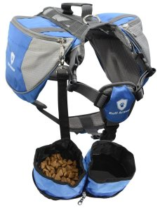 The adjustable dog backpack harness fits all sizes and breeds of dogs for your outdoor adventures
