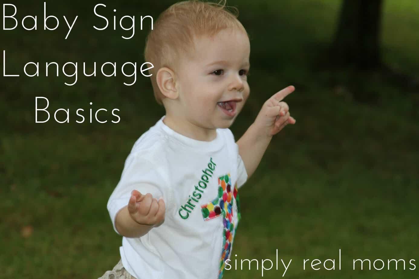 Baby Sign Language Basics