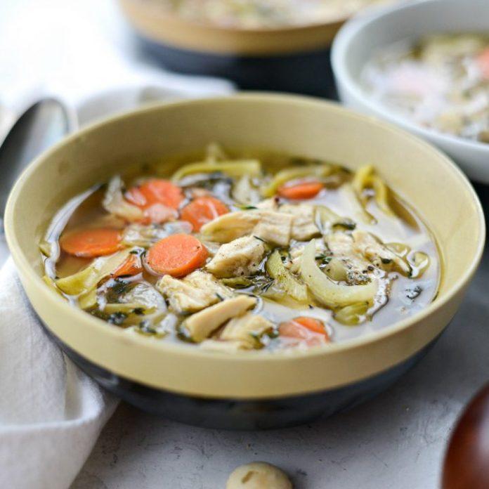 Leftover Turkey Noodle Soup Simply Scratch
