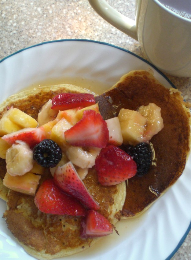 Healthy Cottage Pancakes | Simply Scrumptious by Sarah