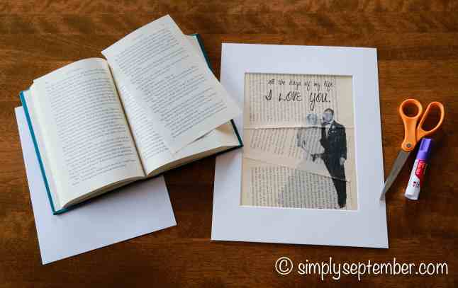 how to print photo art on book pages tutorial, print photo art, photo art, printing art, printing on book pages, art on book pages, book pages art, book, book art, turning photos into sketches, tutorial, computer tutorial, diy decor