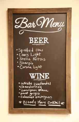 personalized chalkboard menu, chalkboard, men, personalized chalkboard, bar menu, beer menu, wine menu, chalk