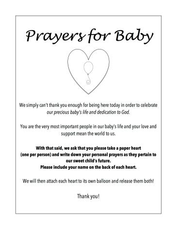 how to have a balloon prayer party, balloon, balloons, prayer, baby prayer, prayers for baby, party, balloon party, dedication, dedication party, baptism, baptism party, christening, christening party, free printable, free printabels