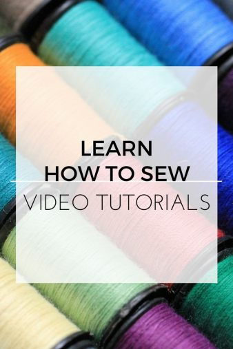 how I taught myself to sew and you can too, teach sewing, sewing, sew, sewing tutorials, sewing videos, learn to sew, teaching yourself to sew, learning to sew, sewing machine, sewing machine recommendations, how to sew