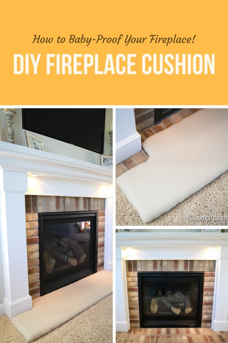 how to baby proof a fireplace diy hearth cushion simply september rh simplyseptember com how to baby proof fireplace doors how to baby proof fireplace doors