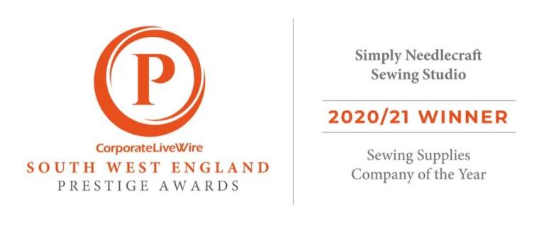 Sewing Supply Company of the Year Award 20/21
