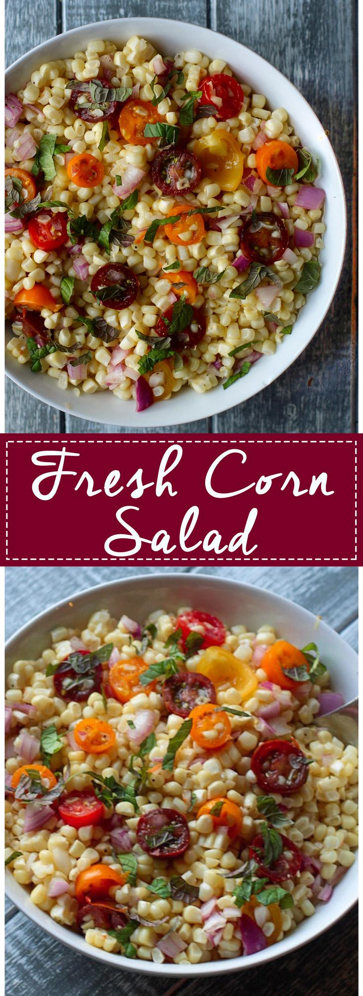 Fresh Corn Salad Pinterest