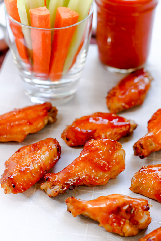 Whole Food Hot Wings - A healthy twist on an American classic!