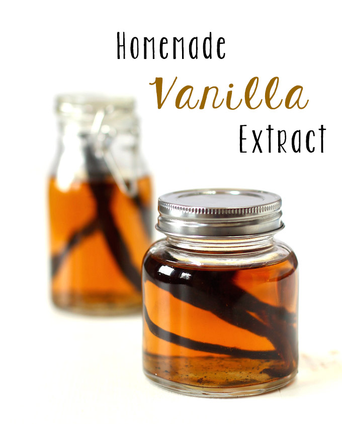 2 Ingredient Homemade Vanilla Extract