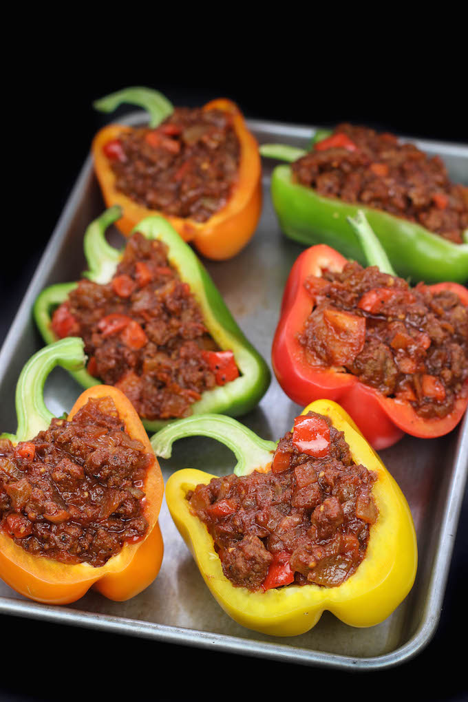 Stuffed Peppers Uncooked
