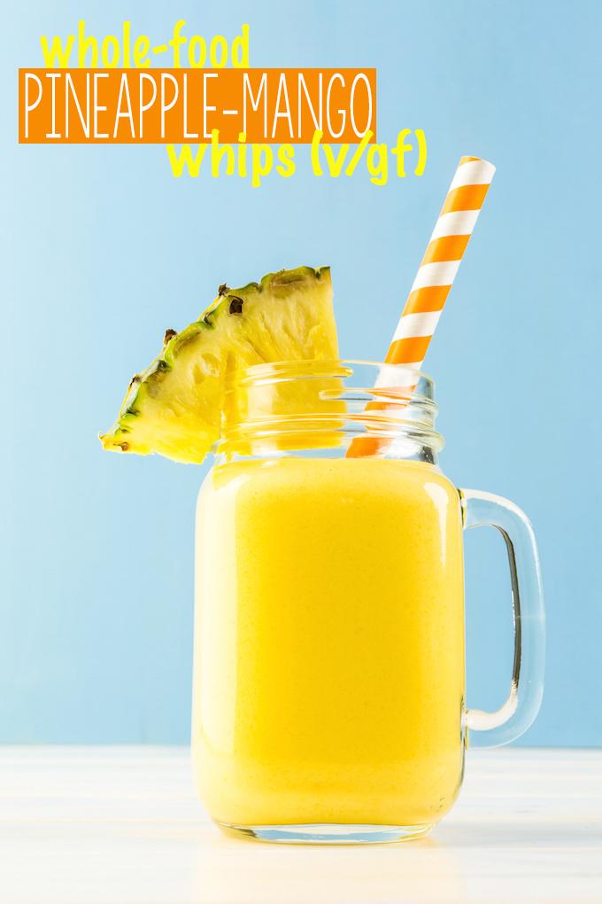 Creamy Pineapple Mango Whips