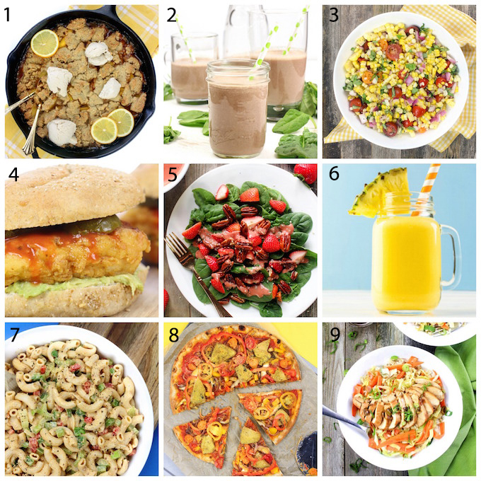 Simply Sissom's Best Whole Food Recipes. #April2016