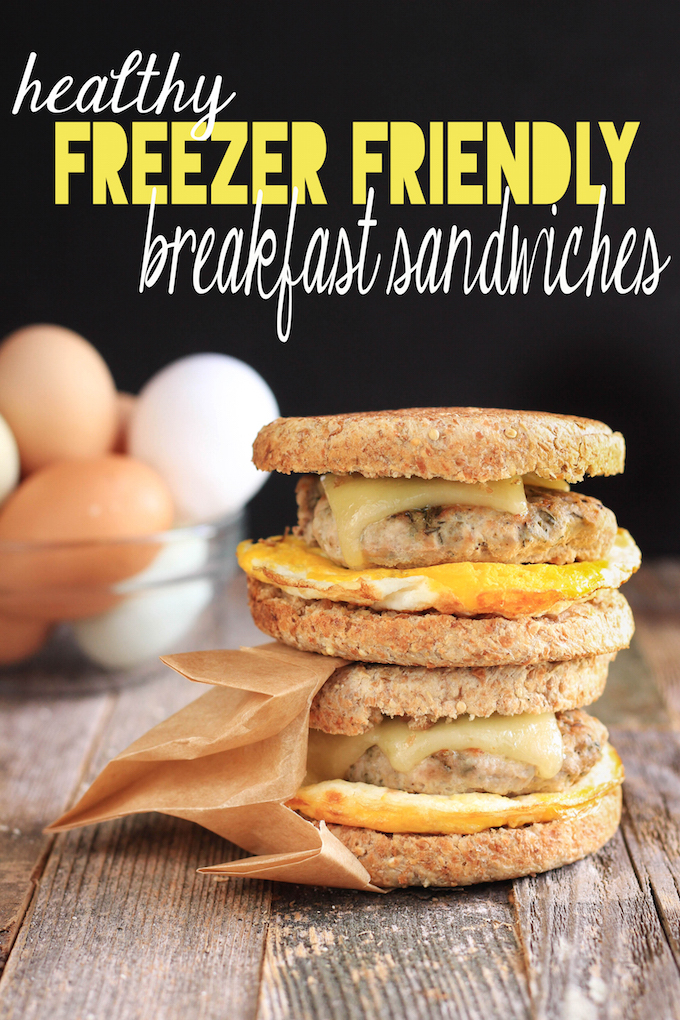Healthy Freezer Friendly Breakfast Sandwiches Simply Sissom