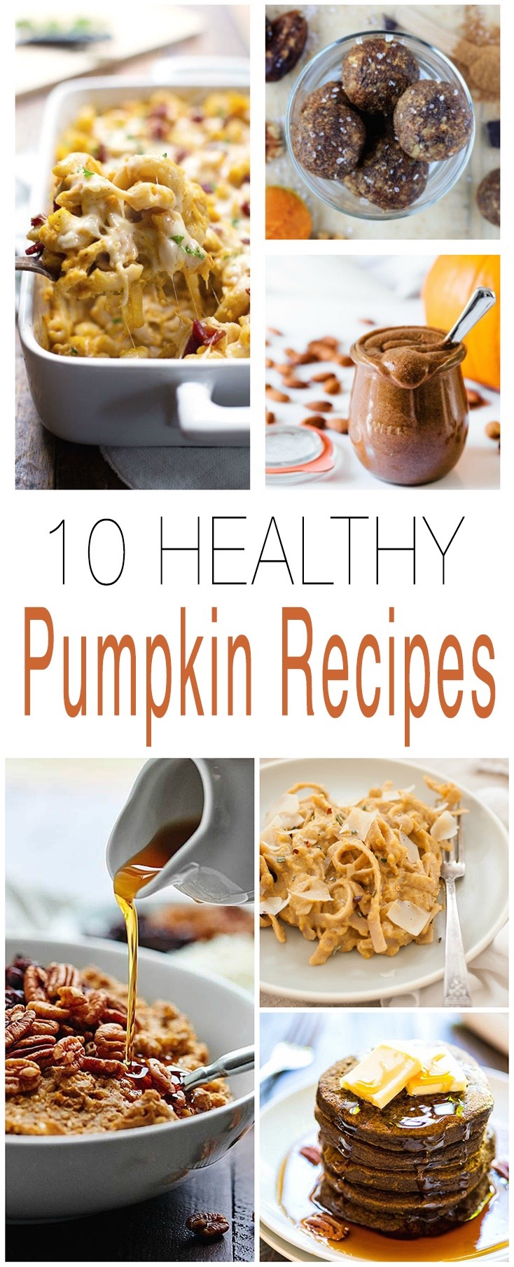 From breakfast, to dessert, and everything in between.. 10 Healthy Whole-Food Pumpkin Recipes to try out this Fall.