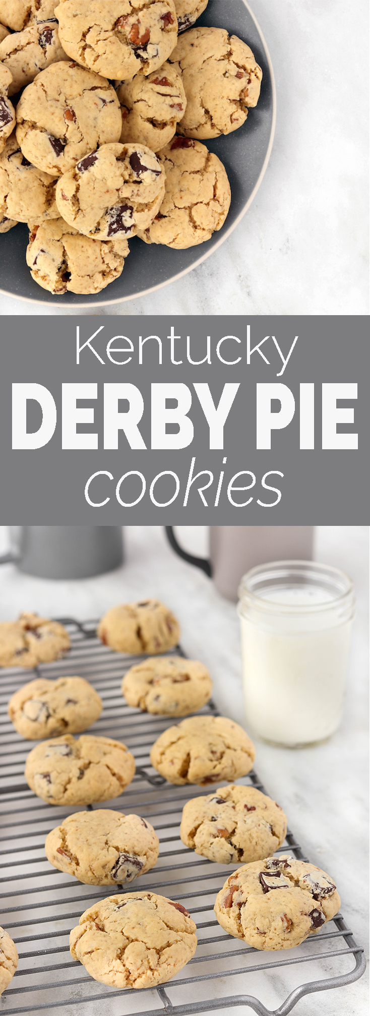 7-Ingredient Gluten-Free Kentucky Derby Cookies are a new twist on an old Southern Classic. Tender, simple and delicious! #glutenfree