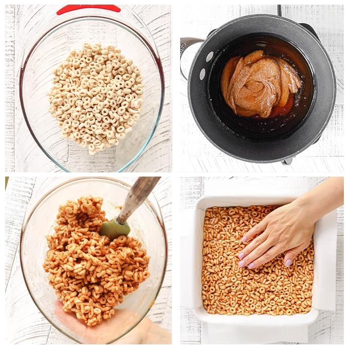 5-Ingredient No Bake Cereal Bars For Kids
