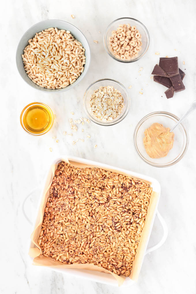 Healthy no bake cereal bars for kids simply sissom these healthy no bake cereal bars for kids are simple to make requiring just ccuart Gallery