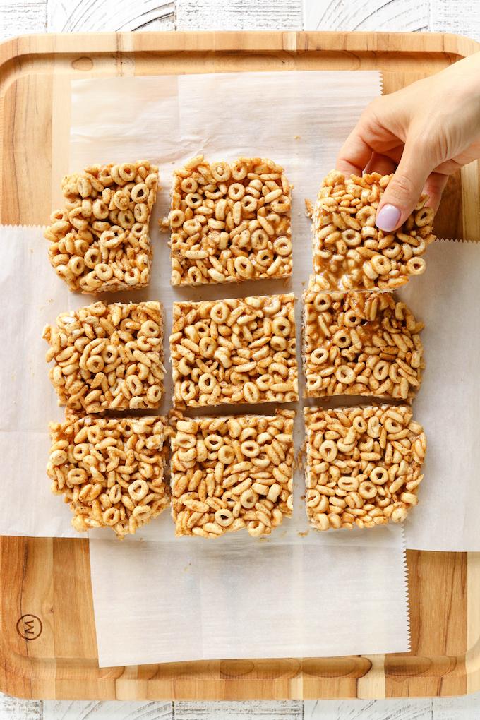 Healthy No-Bake Cereal Bars for Kids