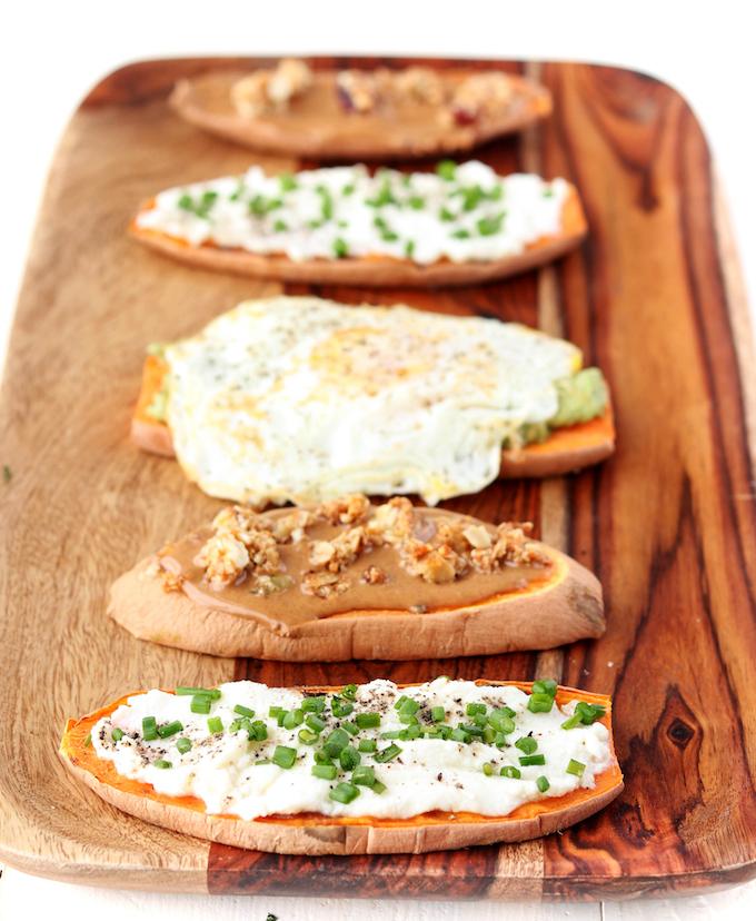 How to Make Sweet Potato Toast 3 Ways