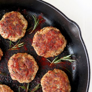 Homemade Breakfast Sausage is simple to make and so much healthier than it's store-bought counterpart. Freezer-friendly and preservative and gluten-free!