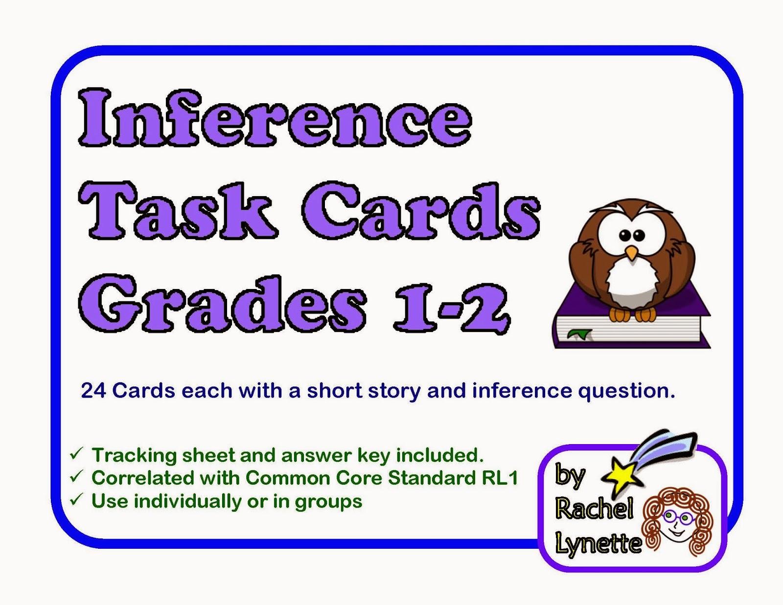 Demoinferencetaskcardsshortstorycardsforgrades Page 1