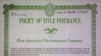 How Title Insurance Works.