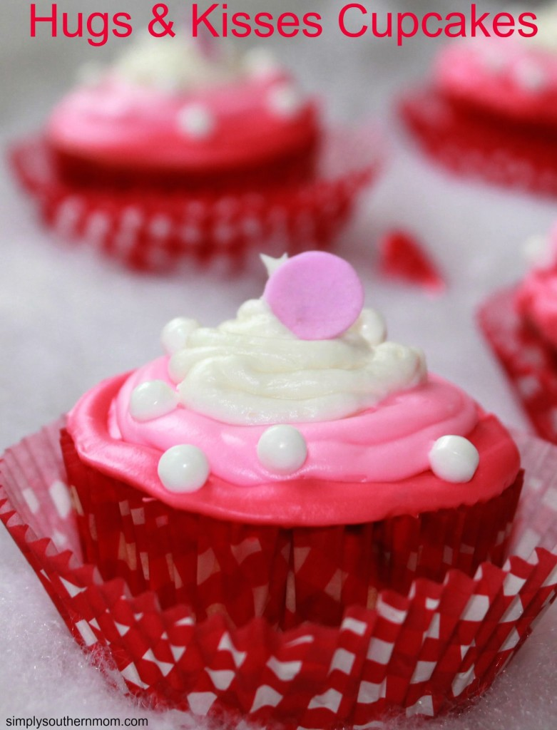 Easy Valentines Day Hugs Amp Kisses Cupcakes Recipe Simply