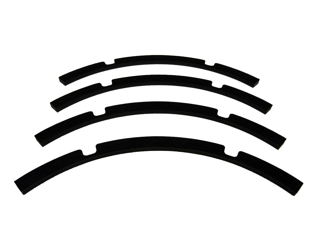 Speaker Gasket For Speaker Repair Round 18 Black Paper