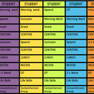 Simple Tips for Special Ed Scheduling