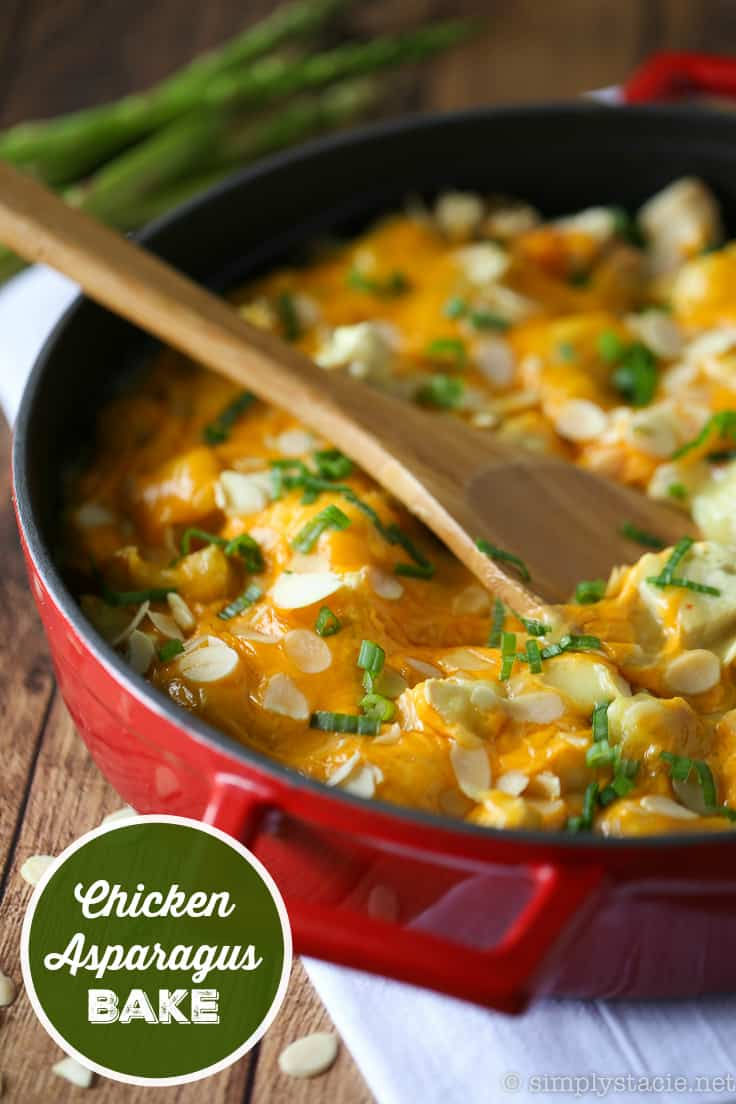 Chicken Asparagus Bake by Simply Stacie