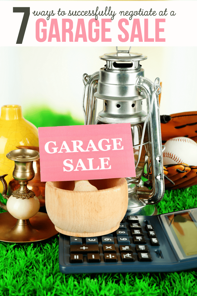 7 Ways To Successfully Negotiate At A Garage Sale Simply