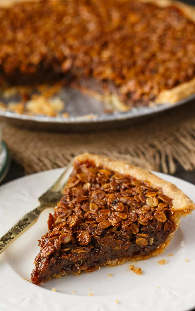 Oatmeal Pie - An old fashioned dessert just like Grandma used to make!