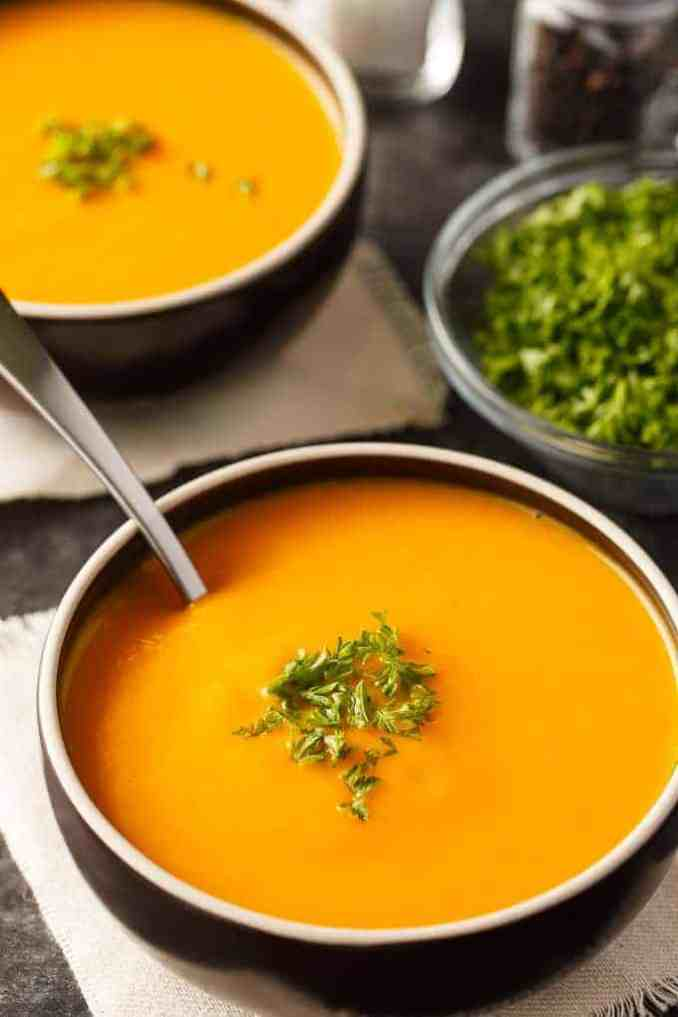 Cream of Carrot Soup - Simply Stacie