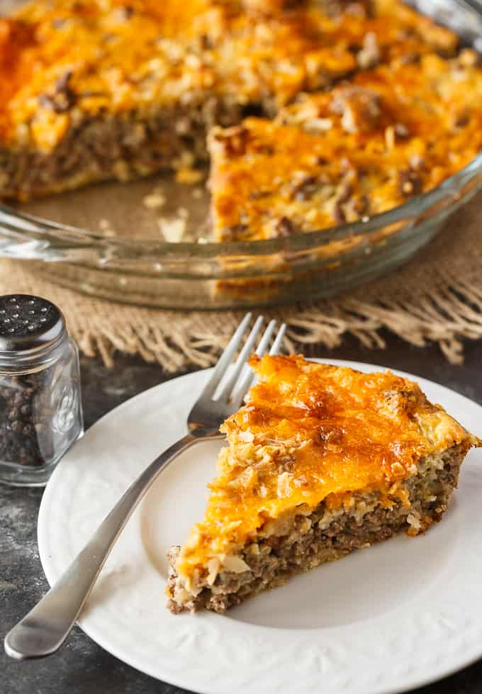 Weight Watchers Cheeseburger Pie