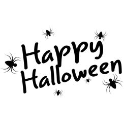 Halloween Spider Stamp